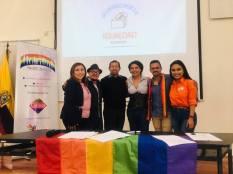 Concejal a Pachacutik Juio Neira firmó el acuerdo por la Igualdad LGBT (4)