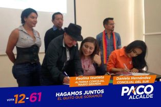 Consejales de Izquierda Democrática y Vive firman acuerdo por la igualdad LGBT (2)