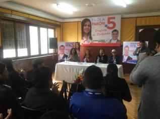 Firma Acuerdo Por la Igualdad Paola Pabon prefecta y Federacion ecuatoriana de organizaciones LGBT (13)