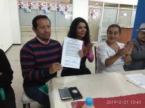 firma del acuerdo por la igualdad entre Diane Rodriguez y Luisa Maldonado candidata a la alcaldia de quito (10)