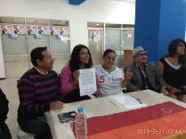firma del acuerdo por la igualdad entre Diane Rodriguez y Luisa Maldonado candidata a la alcaldia de quito (12)