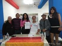 firma del acuerdo por la igualdad entre Diane Rodriguez y Luisa Maldonado candidata a la alcaldia de quito (16)