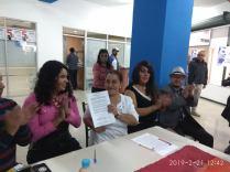 firma del acuerdo por la igualdad entre Diane Rodriguez y Luisa Maldonado candidata a la alcaldia de quito (4)