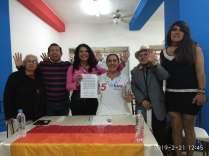 firma del acuerdo por la igualdad entre Diane Rodriguez y Luisa Maldonado candidata a la alcaldia de quito (5)