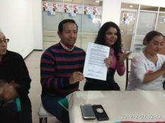 firma del acuerdo por la igualdad entre Diane Rodriguez y Luisa Maldonado candidata a la alcaldia de quito (7)