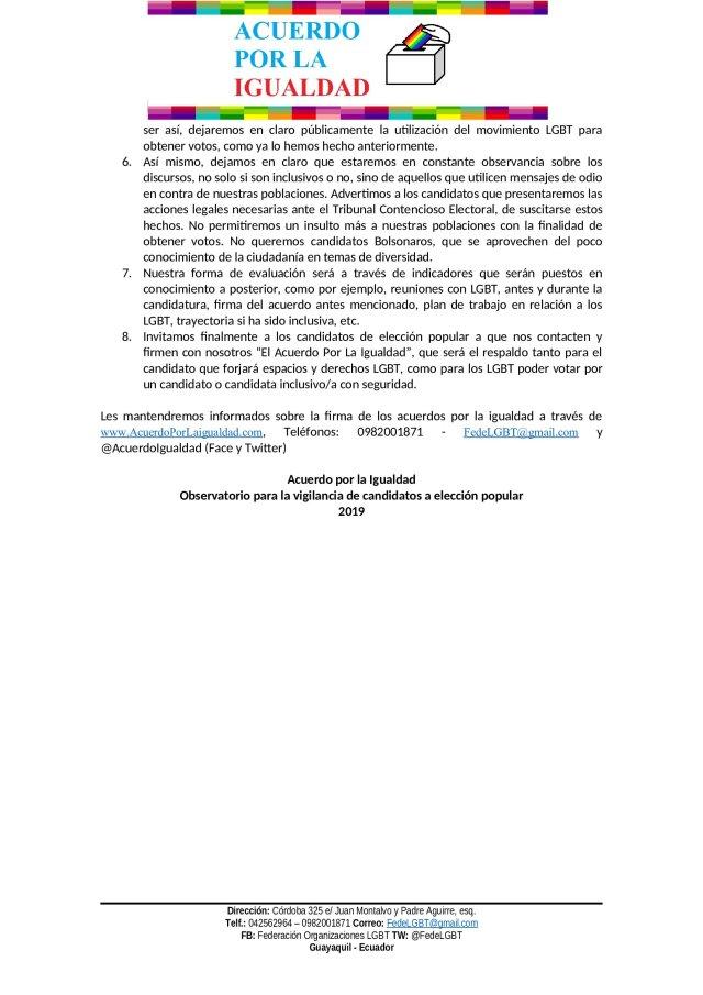 LANZAMIENTO OBSERVATORIO 2019 - Acuerdo por la igualdad LGBT_001
