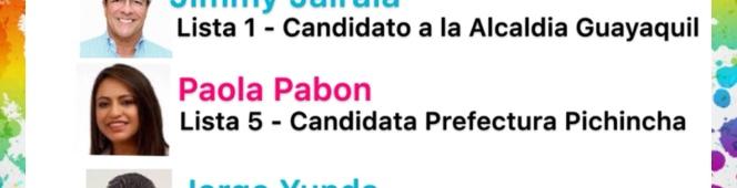 Candidatos a Alcaldes y Prefectos en Ecuador que han firmado elAcuerdo