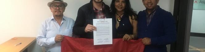 Firmas de Acuerdo por la Igualdad en Quito2019