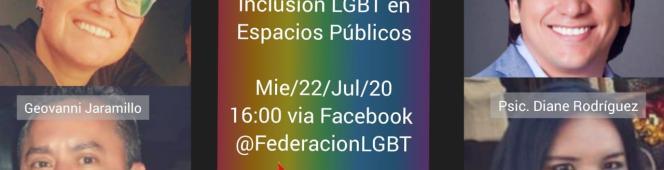 CONVERSATORIO Inclusión LGBT en espaciosPúblicos